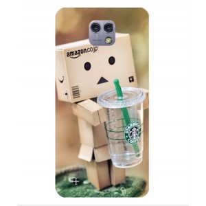 Coque De Protection Amazon Starbucks Pour LG X Cam