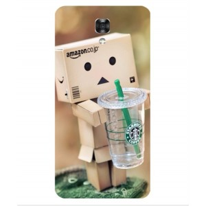 Coque De Protection Amazon Starbucks Pour LG X Screen