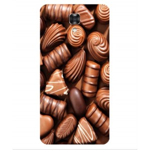 Coque De Protection Chocolat Pour LG X Screen