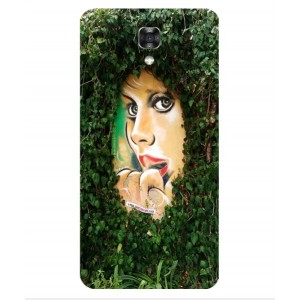 Coque De Protection Art De Rue Pour LG X Screen