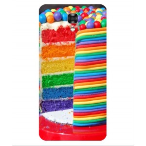 Coque De Protection Gâteau Multicolore Pour LG X Screen