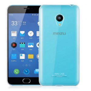 Coque De Protection Rigide Transparent Pour Meizu M3