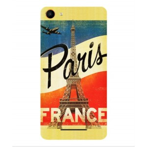 Coque De Protection Paris Vintage Pour Wiko Jerry