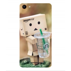 Coque De Protection Amazon Starbucks Pour Wiko K-Kool