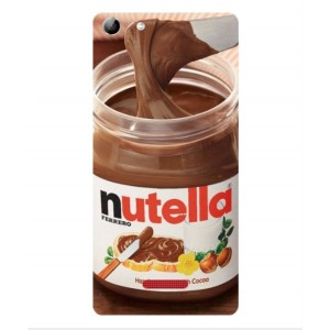 Coque De Protection Nutella Pour Wiko Selfy 4G Rubby