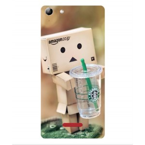 Coque De Protection Amazon Starbucks Pour Wiko Selfy 4G Rubby