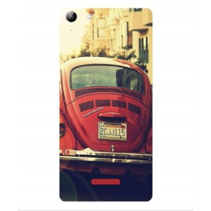 Coque De Protection Voiture Beetle Vintage Wiko Selfy 4G Rubby
