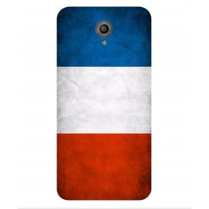 Coque De Protection Drapeau De La France Pour Vodafone Smart Prime 7