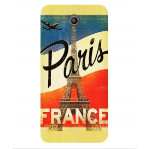 Coque De Protection Paris Vintage Pour Vodafone Smart Prime 7