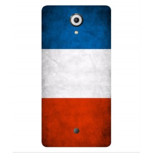 Coque De Protection Drapeau De La France Pour Wiko U Feel