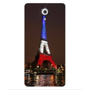 Coque De Protection Tour Eiffel Couleurs France Pour Wiko U Feel