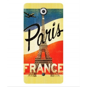 Coque De Protection Paris Vintage Pour Wiko U Feel
