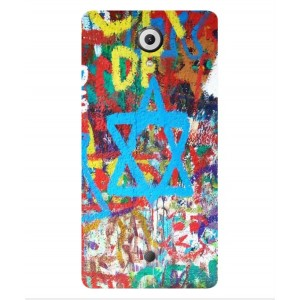 Coque De Protection Graffiti Tel-Aviv Pour Wiko U Feel