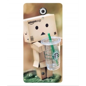 Coque De Protection Amazon Starbucks Pour Wiko U Feel