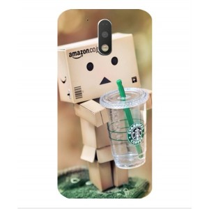 Coque De Protection Amazon Starbucks Pour Motorola Moto G4