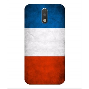 Coque De Protection Drapeau De La France Pour Motorola Moto G4 Play