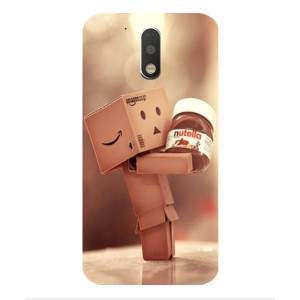 Coque De Protection Amazon Nutella Pour Motorola Moto G4 Play
