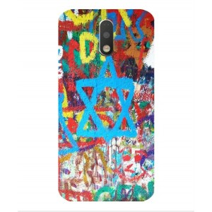 Coque De Protection Graffiti Tel-Aviv Pour Motorola Moto G4 Play