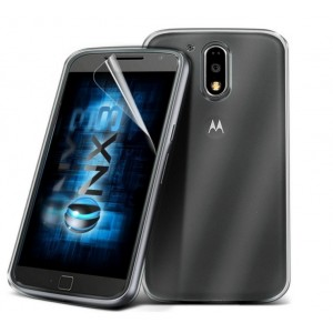 Coque De Protection En Silicone Transparent Pour Motorola Moto G4