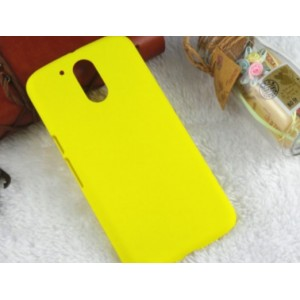 Coque De Protection Rigide Jaune Pour Motorola Moto G4 Play