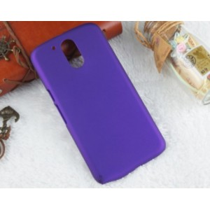 Coque De Protection Rigide Violet Pour Motorola Moto G4 Play