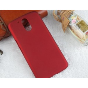 Coque De Protection Rigide Rouge Pour Motorola Moto G4 Play