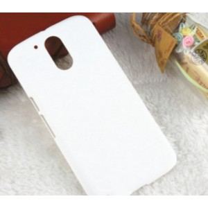 Coque De Protection Rigide Blanc Pour Motorola Moto G4 Play