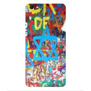 Coque De Protection Graffiti Tel-Aviv Pour Vivo X7 Plus