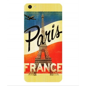Coque De Protection Paris Vintage Pour Vivo X7