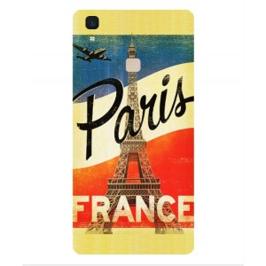 Coque De Protection Paris Vintage Pour Vivo V3 Max