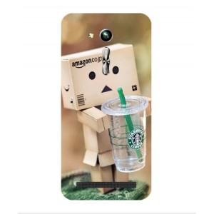 Coque De Protection Amazon Starbucks Pour Asus Zenfone Go ZB452KG