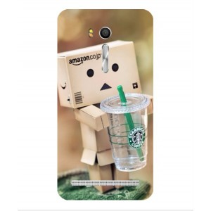 Coque De Protection Amazon Starbucks Pour Asus Zenfone Go ZB551KL