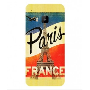 Coque De Protection Paris Vintage Pour HTC One S9