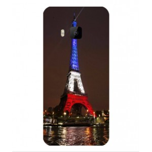 Coque De Protection Tour Eiffel Couleurs France Pour HTC One S9