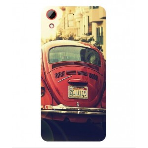 Coque De Protection Voiture Beetle Vintage HTC Desire 628