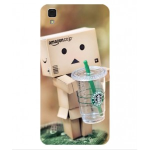 Coque De Protection Amazon Starbucks Pour LG X Style
