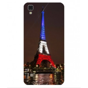 Coque De Protection Tour Eiffel Couleurs France Pour LG X Power