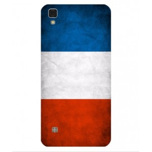 Coque De Protection Drapeau De La France Pour LG X Power