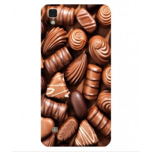 Coque De Protection Chocolat Pour LG X Power