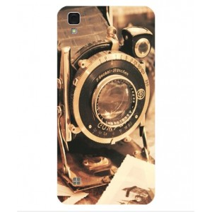Coque De Protection Appareil Photo Vintage Pour LG X Power