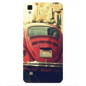 Coque De Protection Voiture Beetle Vintage LG X Power
