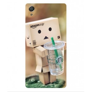 Coque De Protection Amazon Starbucks Pour Sony Xperia E5