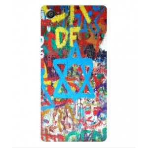 Coque De Protection Graffiti Tel-Aviv Pour Sony Xperia E5