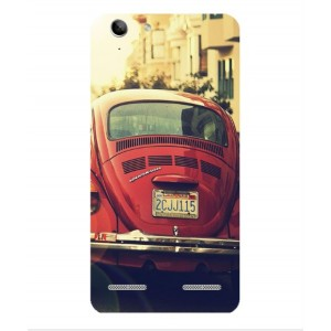 Coque De Protection Voiture Beetle Vintage Lenovo K5 Plus
