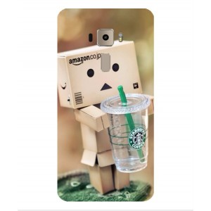 Coque De Protection Amazon Starbucks Pour Asus Zenfone 3 ZE520KL