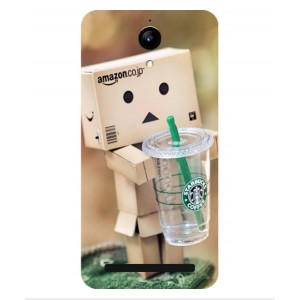 Coque De Protection Amazon Starbucks Pour Archos 50 Power
