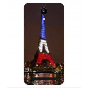 Coque De Protection Tour Eiffel Couleurs France Pour Archos 50 Power