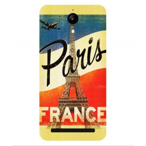 Coque De Protection Paris Vintage Pour Archos 50 Power