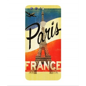 Coque De Protection Paris Vintage Pour Huawei Honor 8
