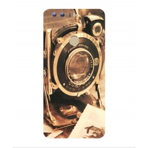 Coque De Protection Appareil Photo Vintage Pour Huawei Honor 8